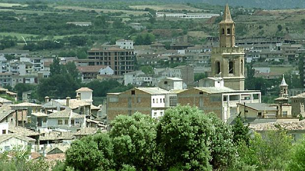 Vista del casco urbano de Barbastro