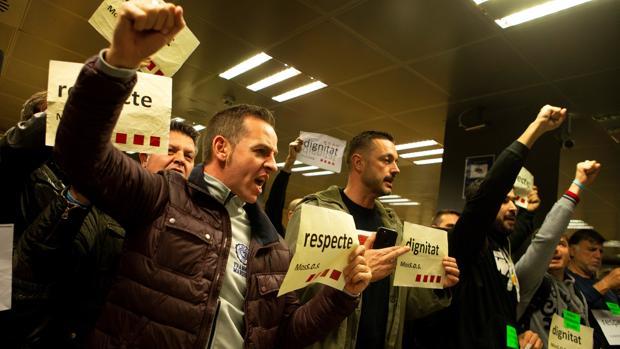 El colectivo MosSOS ha protagonizado varias protestas en las últimas semanas