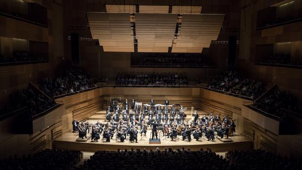 La Orquesta Sinfónica de Castilla y León, en el Auditorio Miguel Delibes