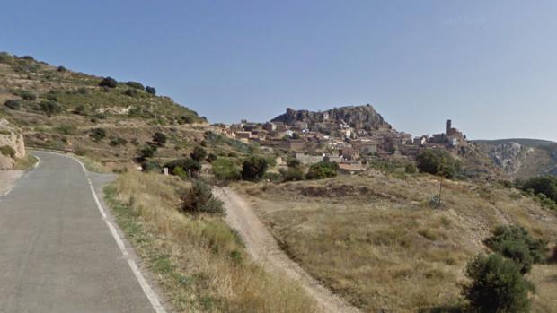 Núcleo de Calasanz, próximo al lugar en el que se produjo el accidente