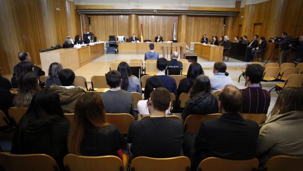 Juicio en la Audiencia provincial coruñesa