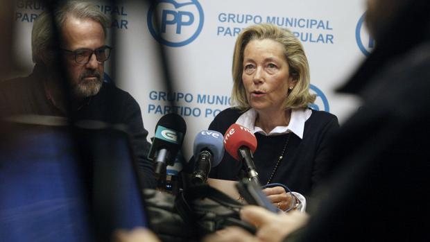 La portavoz del PP local, Rosa Gallego