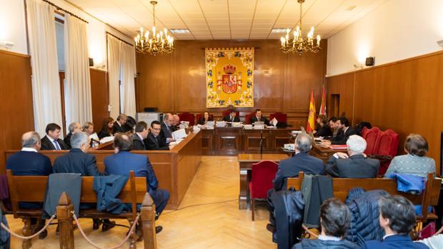 Juicio por las prejubilaciones de Caja Segovia