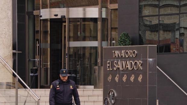 Tanatorio «El Salvador» de Valladolid, escenario de la estafa