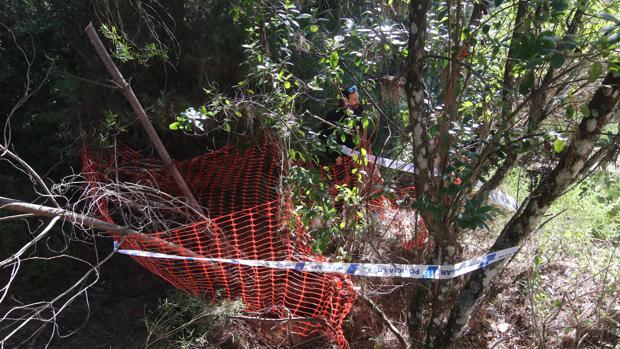 Un pozo potencialmente peligroso es localizado y señalizado