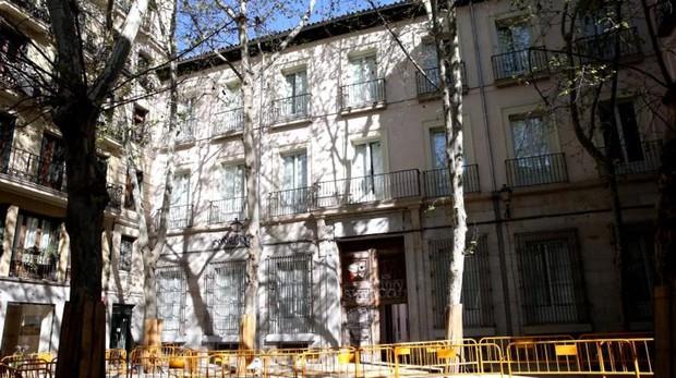 La fachada del Palacio de la Duquesa de Sueca, ya rehabilitado