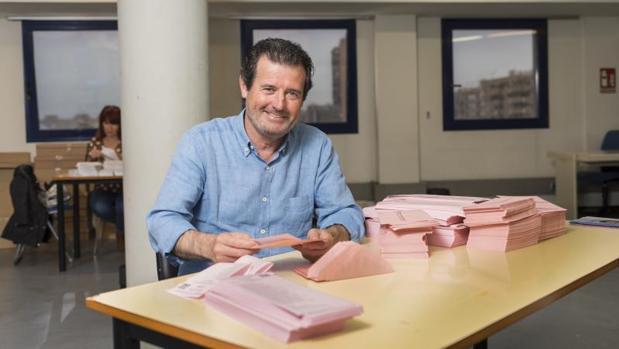 Pepe Císcar, presidente del PP en la provincia de Alicante y candidato número 1 de la lista de los populares a las Cortes Valencianas por Alicante