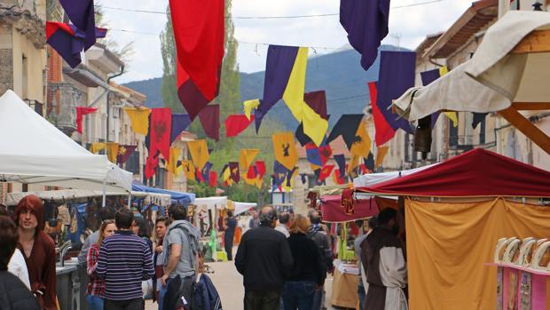 Imagen del Mercado Medieval de Tamajón (Guadalajara)