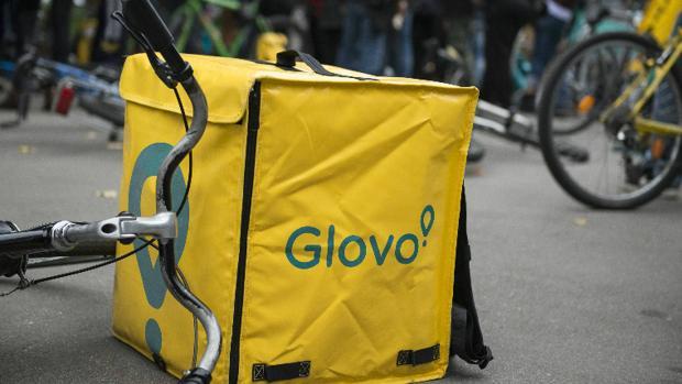Una bicicleta de Glovo