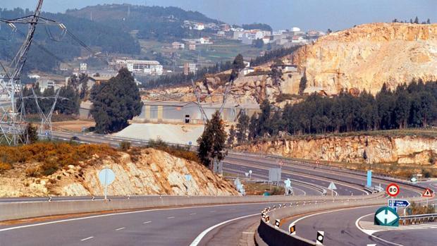 Vista de la autopista AG-55