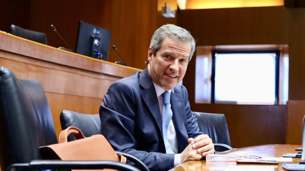 La dirección regional de Cs, que lidera Daniel Pérez (en la imagen), ha salido en defensa de sus tres concejales de Huesca frente a los ataques del PP