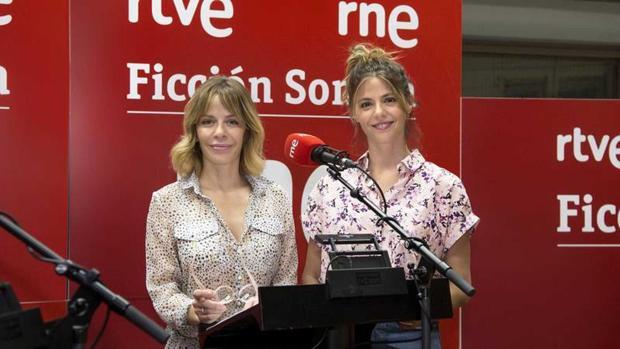 María Adánez y Manuela Velasco, las dos actrices que protagonizan la ficción sonora