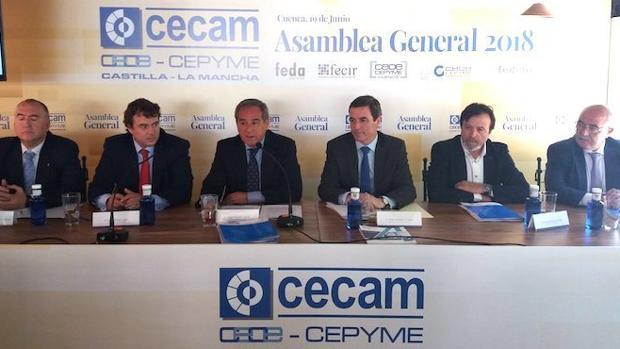 Asamblea general de la patronal regional CECAM