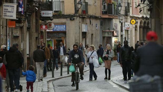 El barrio del Raval de Barcelona