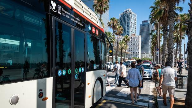 Un autobús de Barcelona