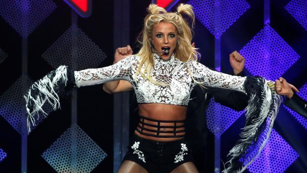 Britney Spears, durante un concierto