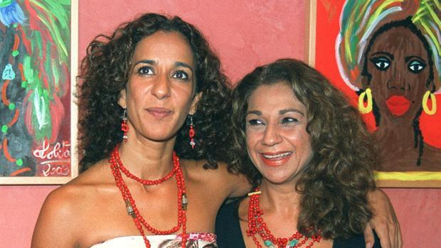Lolita y Rosario Flores (imagen de archivo)