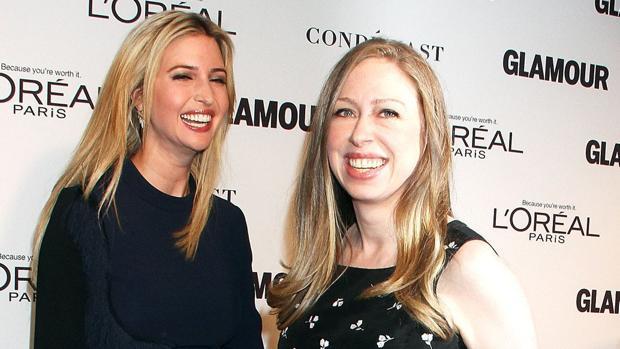 Ivanka Trump y Chelsea Clinton