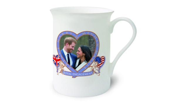 La taza de «merchandising» de la boda del principe Harry y Meghan Markle