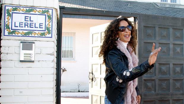 Rosario Flores, en «El Lerele», en 2005