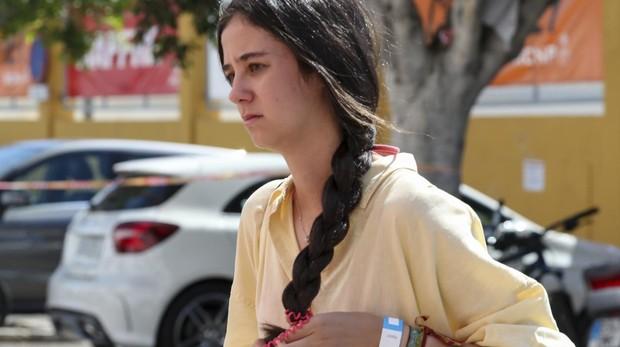 Victoria Federica pasando unos días en Mallorca junto a su familia a primeros de mes