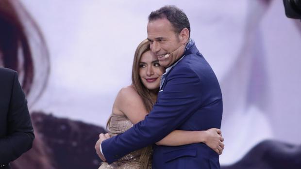 Carlos Lozano y Miriam Saavedra en el programa «GH Vip 2016».