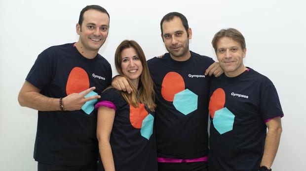 Nacho Fernández, María Lía, Juan Carlos Martínez Carreiro y Óscar Rojas son los participantes del Reto Gympass ABC.