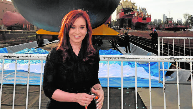 En 2011, cuando acabaron las reparaciones del submarino, la presidenta Kirchner aseguró que tenía «30 años más de vida»