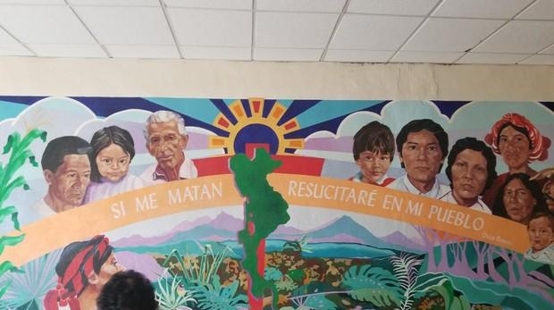 Centro para acoger inmigrantes Annunciation House, en El Paso