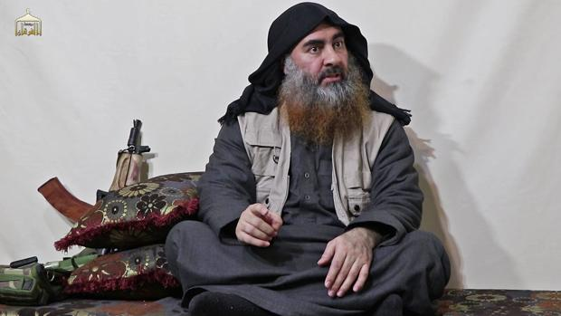 El líder yihadista Abu Bakr al-Baghdadi