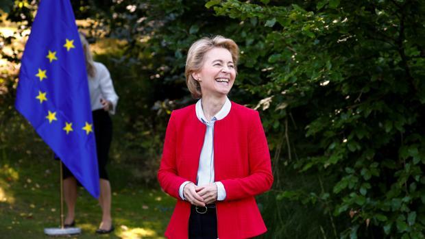 La nueva presidenta de la Comisión Europea, la alemana Ursula von der Leyen