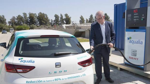 Un Seat León es la prueba de que el nuevo combustible será factible
