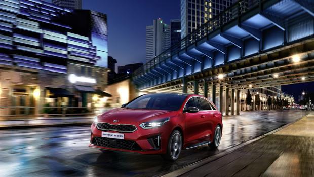 Imagen del nuevo vehiculo de Kia
