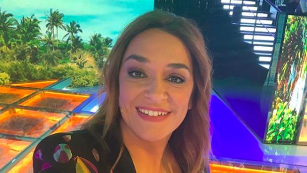 Toñi Moreno, presentadora de televisión.