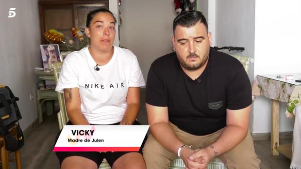 Vicky y José, los padres de Julen, en 'Viva la vida'.