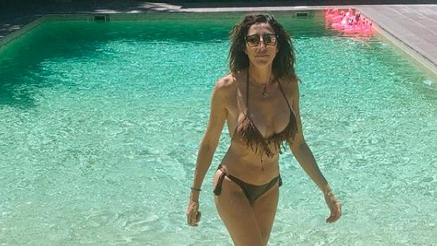 Paz Padilla, disfrutando del verano en Madrid.