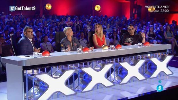 El jurado de Got Talent en un momento de la gala