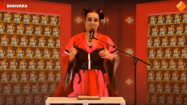 La BNNVARA holandesa parodia «Toy», la canción con la que Israel ganó Eurovisión