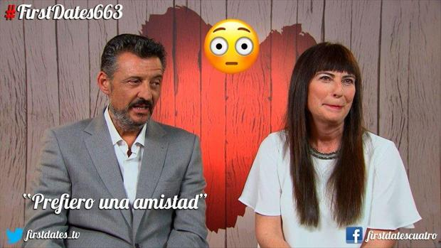 Antonio y Raquel tras su cita en First Dates