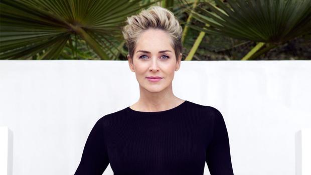 La actriz Sharon Stone