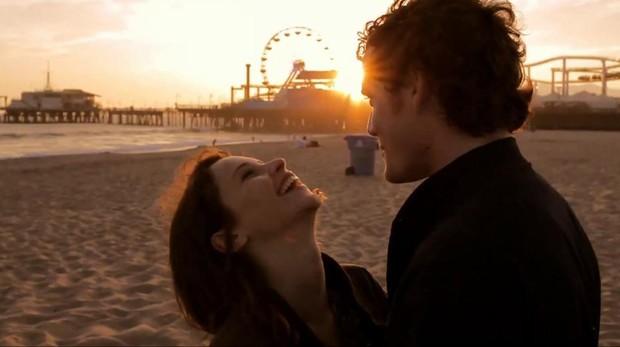 Anton Yelchin y Felicity Jones en «Like crazy»