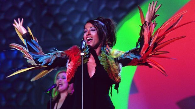 Ensayo de Eurovisión en 1998