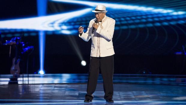 Nico Fioole, en «La Voz Senior»