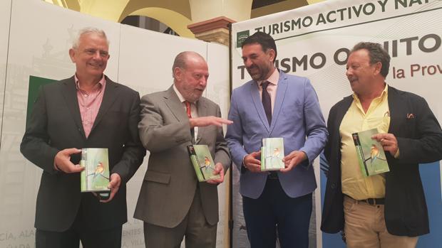 Presentación de la «Guía de aves de la provincia de Sevilla»