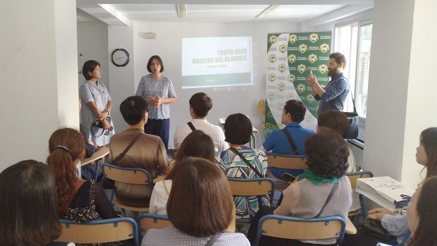 Visita de la delegación surcoreana en Mairena del Aljarafe