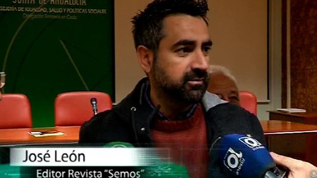 José León, editor de la revista 'Semos'