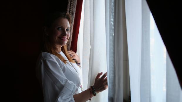 La soprano en una foto de archivo.