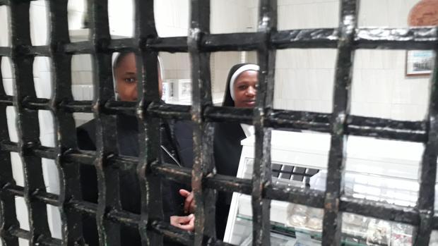 Las religiosas, en el convento de Medina.