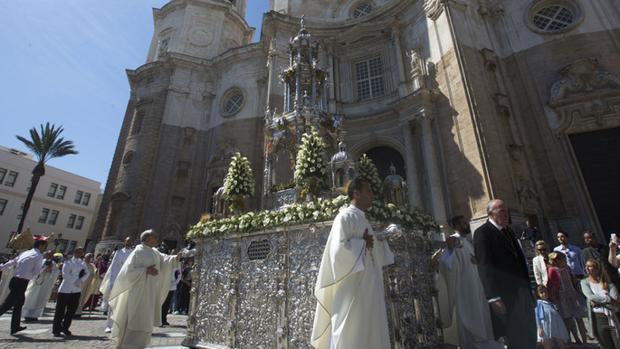 La impresionante custodia del Corpus de Cádiz