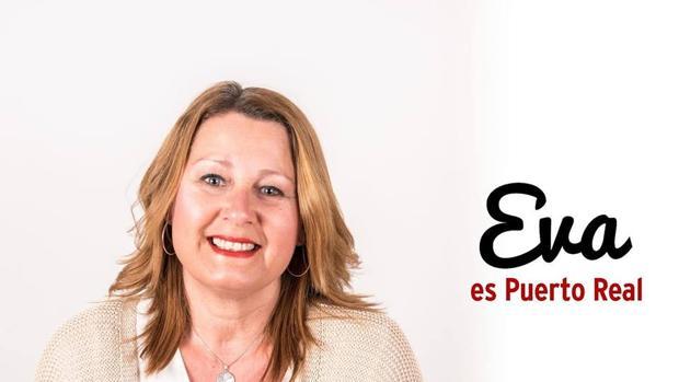 Eva Basadre, en el cartel socilista de las elecciones del 26-M